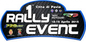LOGO  PRIMO  PAVIA RALLY  EVENT